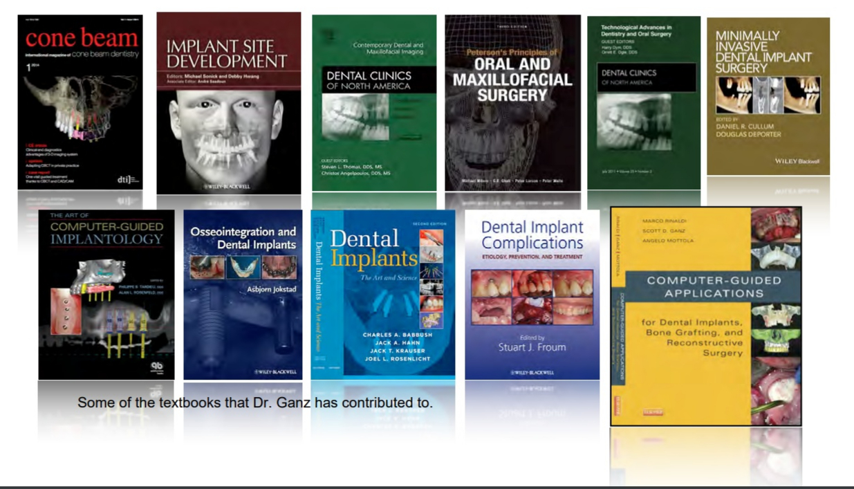 Textbooks Dr. Ganz has contributed to.